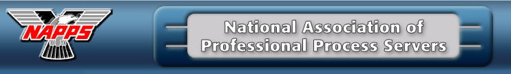 Washington, D.C. Process Server - National Association of Professional Process Servers